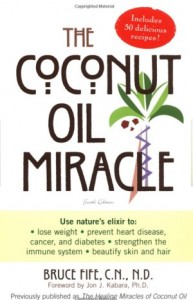 The coconut oil miracle book